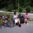 Po dobri uri sedenja na kolesu ???