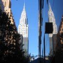 NYC - E 42TH STREET,  POGLED NA CHRAYSLER BUILDING