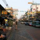 Khao San Road ob 7h zjutraj