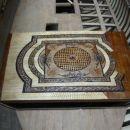 polakirana in vstavljena paluba v ladjo ZAKLJUČENO 1. leto izdelave ali skupno 436 ur efe