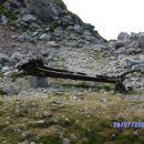 ostanek 1 sv.vojne na krnu