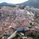 panorama z gradu v Cast. de Vide