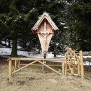 Križ na Bistriški planini .