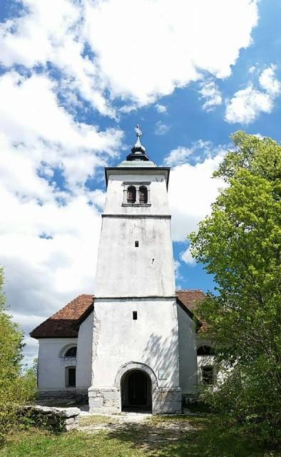 Sv.Barbara nad Hotedrščico - foto