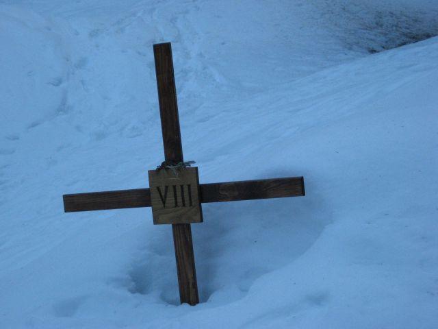Nekatere postaje so označene le s križem