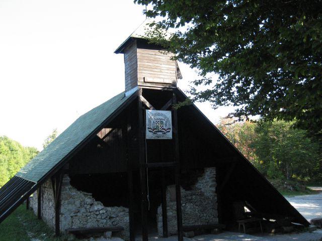...in kapela Sv. Ilije na hrvaški strani