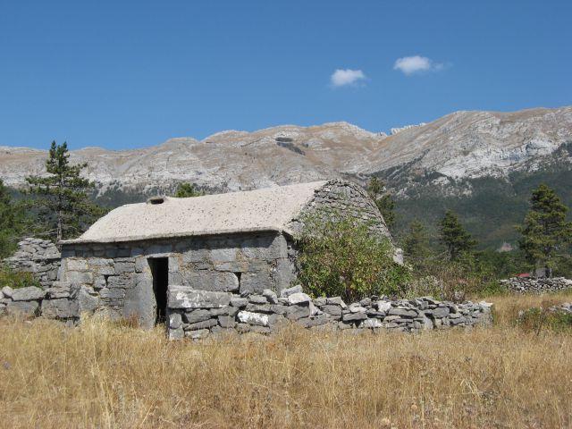 Takšne so bile stare hiše na planoti