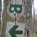 oznaka za gozdno učno pot
