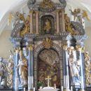 baročna notranjost cerkve
