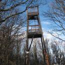 razgledni stolp na vrhu javornika