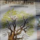 poučne in umetniško izdelane informativne table ob mitski stezi