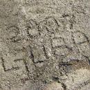 soimenjakinja se je ovekovečila na betonski cesti