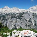 pogled na triglav z debelega vrha (1962 m)