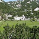 stare stale, travnata ravnica, ki je tudi presihajoče jezero