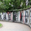 slike znanih obiskovalcev opatije v parku
