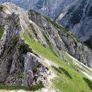 na grebenu pa uživanje na udobni graničarski stezici