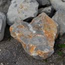 skala v kamnolomu, Novi lazi, 10.8.2013