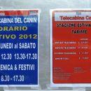 vozni red in cenik kabinske žičnice, vozi do 2. septembra