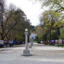 jakopičevo sprehajališče z razstavo fotografij national geographica