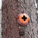 lončarske oznake križevega pota iz Malega Ločnika na Goro