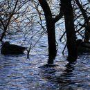 začetek vzpona pri Podpeškem jezeru
