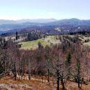 razgled z m. mošnika proti Ajblju in gorskemu kotorju v daljavi