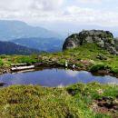 še eno jezerce na nepropustnih vulkanskih tleh