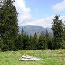 pogled na dleskovško planoto, prekrito z oblaki