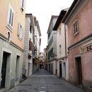 značilne primorske ulice v Miljah