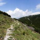 stezica nazaj proti belski planini