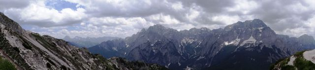 Panorama nad bivakom