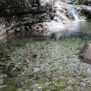 voda v tem tolmunu je res malce modrikasta...