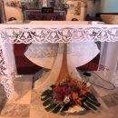 čudovito ročno delo v cerkvi na višarjah