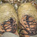 na zadnji etapi iz zg. slemen do kartuzije pa blatna kopel za čevlje
