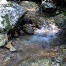 slapiči in tolmuni potoka Robarica...