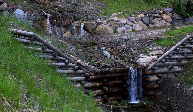 Pot prečka višarski potok