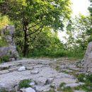 prehod med skalnima blokoma se imenuje