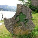 žaba je prepoznavni znak za kraj lokve