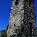 zvonik je edino, kar je ostalo od cerkve sv. trojice, postavljene predvidoma v 17.stoletju