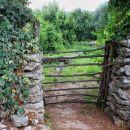 suhozid in preprosta vrata