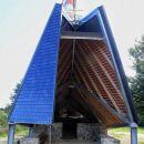 obnovljene ruševine cerkve sv. jere so zaščitene z novo streho