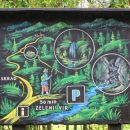 lepo naslikane informativne table v gorskem kotorju