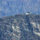 približana romarska cerkev na sveti gori