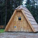 prikupne hiške - leseni šotori