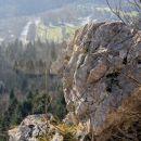 skala na razgledišču