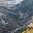 pogled na dolino glinščice