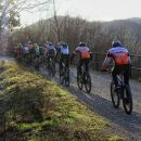 kolesarska tekma po trasi nekdanje železnice