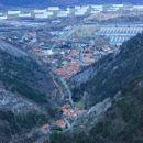 dolina pri trstu, boljunec in začetek doline glinščice