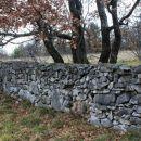 ob kamniti ograji