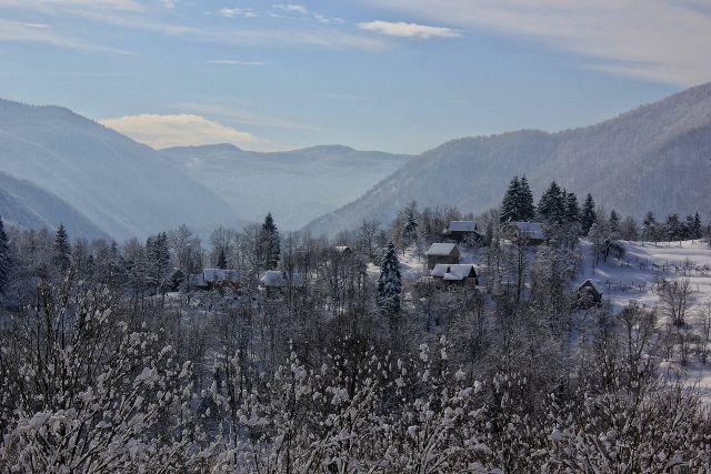 Pogled iz planine na štajer